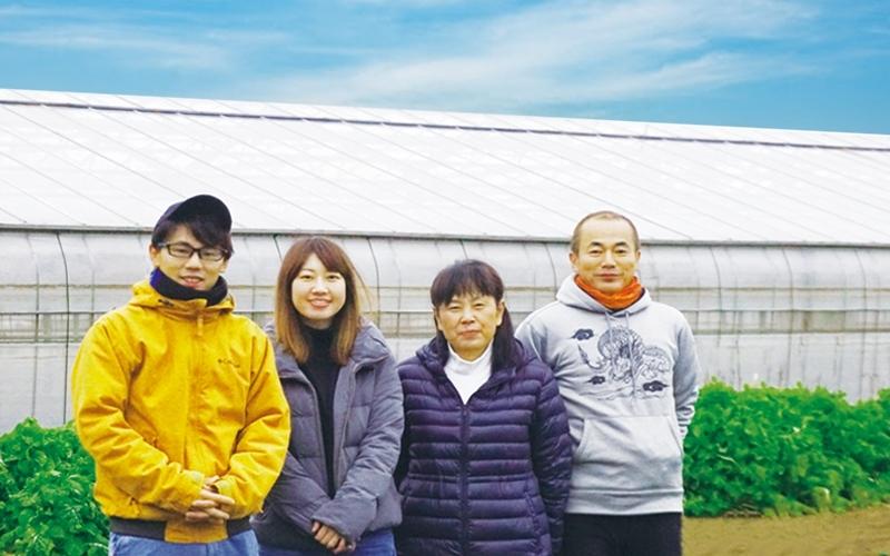 かまくら農園の家族写真