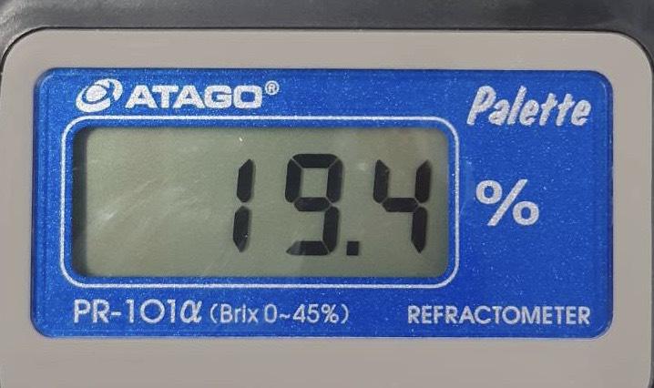かまくら農園のトウモロコシの糖度
