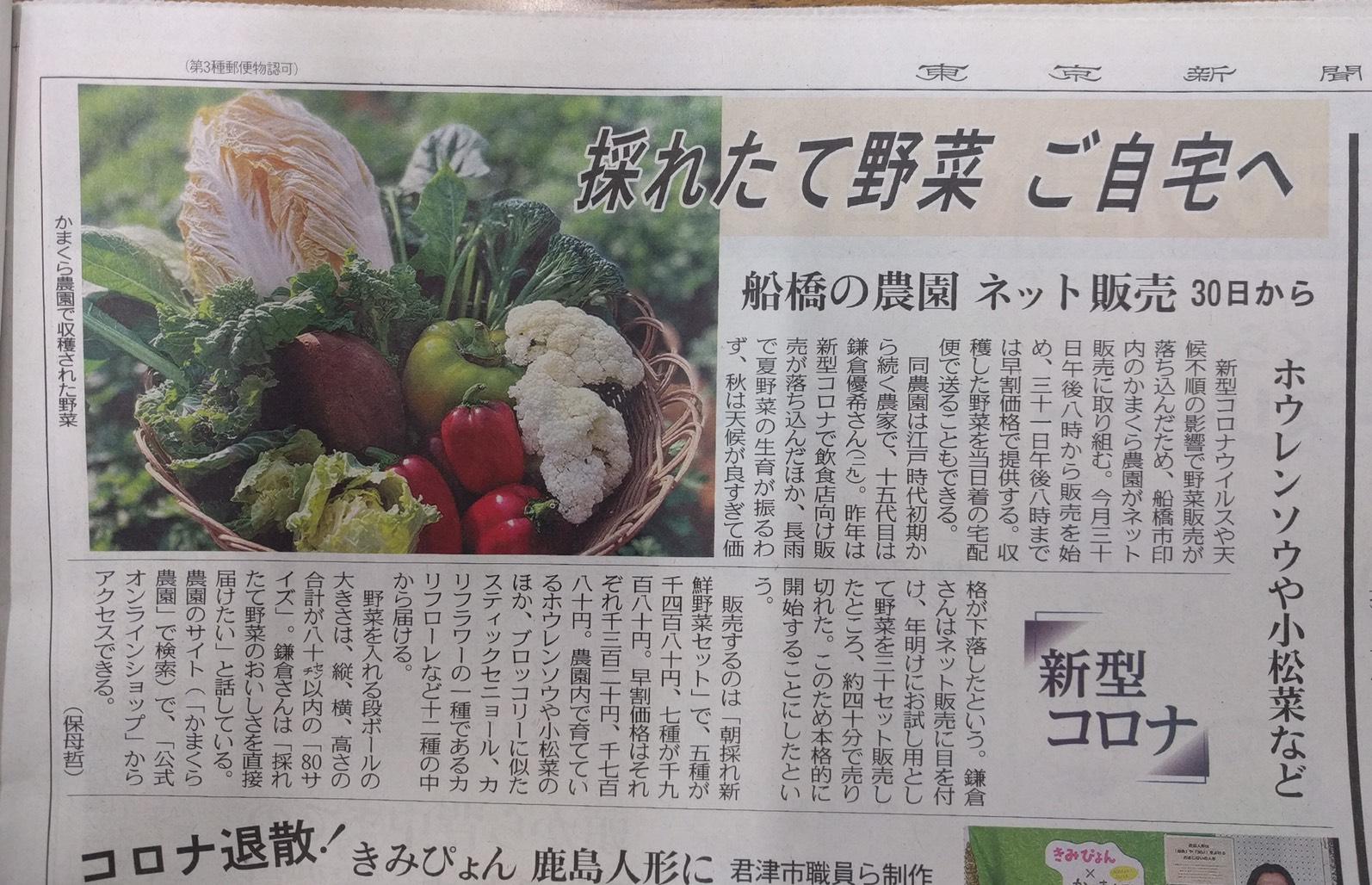 東京新聞さま